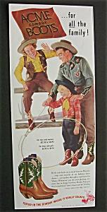 1948  Acme  Cowboy  Boots (Image1)
