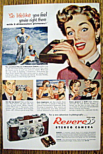 Vintage Ad: 1953 Revere 33 Stereo Camera