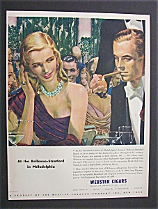 Vintage Ad: 1948 Webster Cigars (Image1)