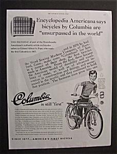 1949  Columbia   Bicycles (Image1)