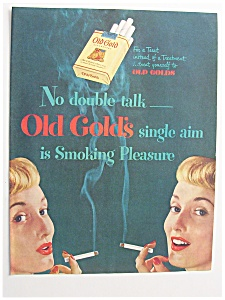 1949 Old Gold Cigarettes