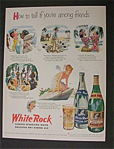 1951  Dual  Ad:  White  Rock  &  Western  Electric (Image1)