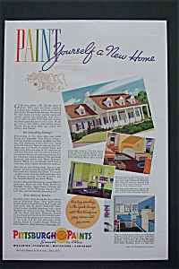 1937 Pittsburgh Paints With Paint New Home  (Image1)