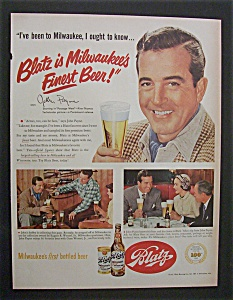 1951 Blatz Beer With John Payne