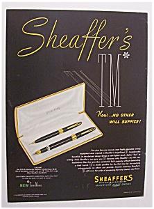1951  Sheaffer's  TM   Pens (Image1)