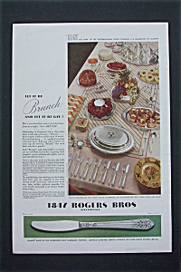 1934 Rogers Bros. Silver-plate w/Let It Be Brunch & Gay (Image1)