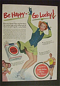 1951 Lucky Strike Cigarettes