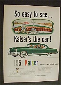 1951 Dual Ad:  Kaiser  &  Tide  Detergent (Image1)