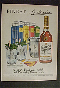 1951 Kentucky Tavern Whiskey