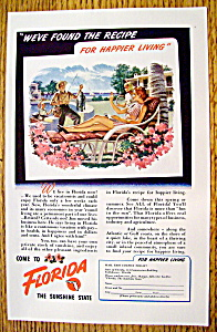 Vintage Ad: 1948 Come To Florida (Image1)