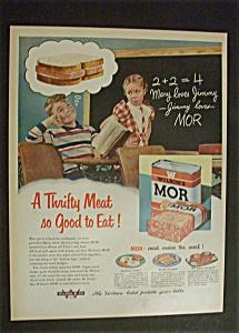 1951 Dual Ad:   Wilson's  Mor  &  Texaco (Image1)