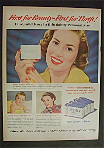 1951 Ivory Soap With 3 Different People