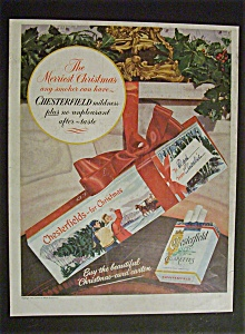 1951 Chesterfield Cigarettes