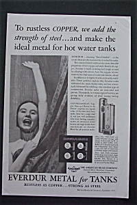 1935 Everdur Metal For Tanks with Girl In The Shower (Image1)