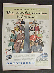 Vintage Ad: 1951 Greyhound & U. S. Air Force (Image1)