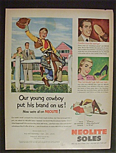 1951 Neolite Soles with Boy Dressed as Cowboy (Image1)