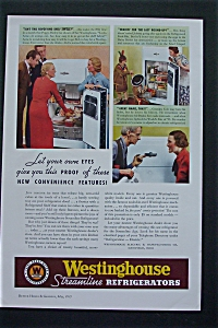 1935 Westinghouse Streamline Refrigerators w/Features (Image1)
