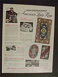 1950 Mary Gertrude Clack's American Lady Rugs (Image1)