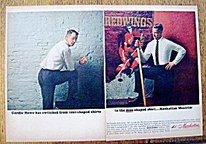 1963 Manhattan Shirts with Gordie Howe (Image1)