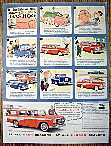 Vintage Ad: 1957 Rambler 6 or V-8 (Image1)
