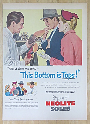1952 Neolite Soles with Man & Woman Looking at Shoe (Image1)