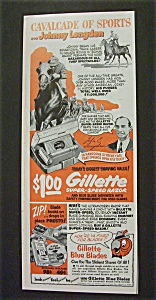 1952 Gillette Super-Speed Razor with Johnny Longden (Image1)