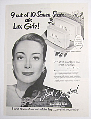1949 Lux Toilet Soap with Joan Crawford (Image1)