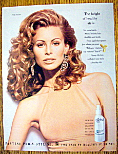 Vintage Ad: 1993 Pantene Pro-V with Niki Taylor (Image1)