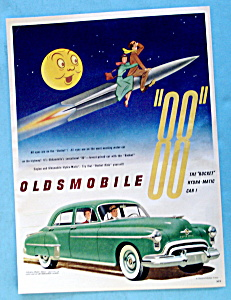 1950 Green Oldsmobile 88 with Rocket (Image1)