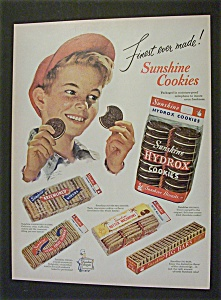 1951 Sunshine Hydrox Cookies
