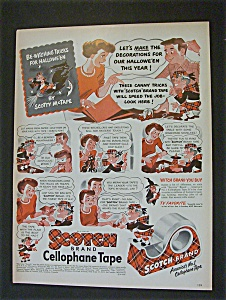 1951 Scotch Cellophane Tape