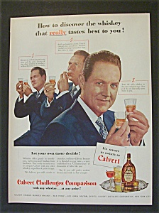1951 Calvert Whiskey