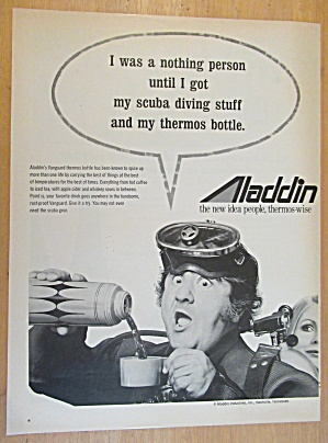 1971 Aladdin Thermos with Buddy Hackett (Image1)