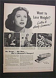 1952 Ayds Reducing Plan W/ Hedy Lamarr