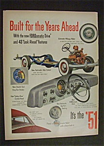 1951  Ford  (2  Page  Ad) (Image1)