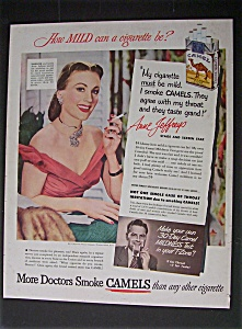 1951 Camel Cigarettes With Anne Jeffreys