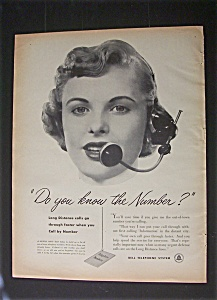 Vintage Ad: 1952 Bell Telephone System (Image1)
