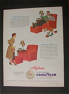 1952 Goodyear Airfoam