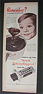 Vintage Ad: 1952 Welch's Cocoanut