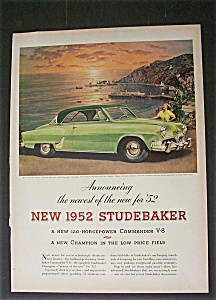 1952 Dual Ad:  Studebaker  &  Lifesavers (Image1)