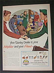 1952 Stanhome Products W/two Women Shaking Hands