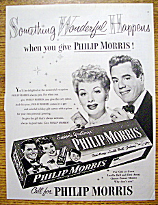 1952 Philip Morris with Lucille Ball & Desi Arnaz (Image1)