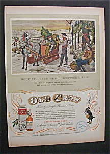 1952 Old Crow Whiskey