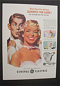 1952 General Electric Sunlamp