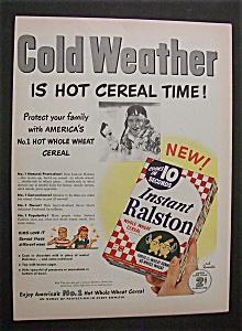1952  Instant  Ralston  Cereal (Image1)