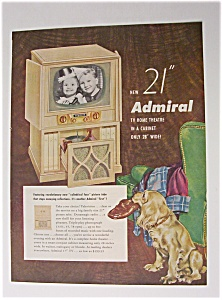 1952  Admiral  TV Home Theatre (Image1)
