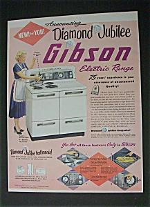 1952  Diamond  Jubilee Gibson  Electric  Range (Image1)