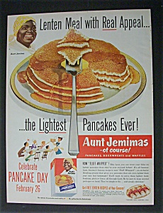 1952 Aunt Jemima Ready Mix