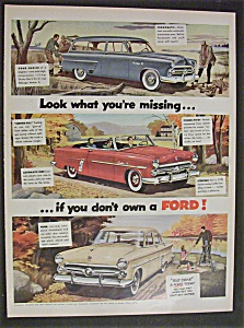 1952 Ford with Different Fords (Image1)