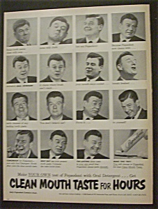 Vintage Ad: 1952  Pepsodent  with  Arthur  Godfrey (Image1)